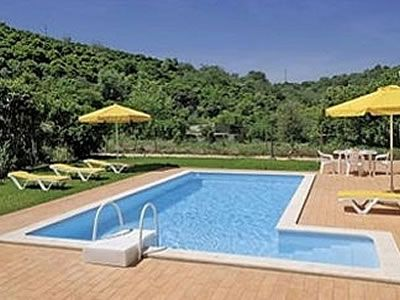 Single Storey 2 Bed Villa With Air Con, Pool And Garden