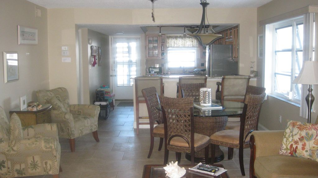 Great walkable location beautifully updated vrbo for Living room with lots of seating
