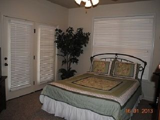Branson villa photo - Queen Bedroom Lower level, Opens to Lower Deck By #13 Golf Hole