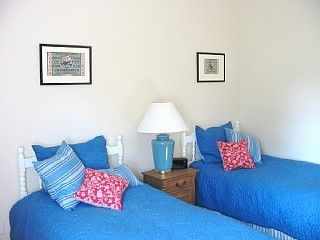 Surfside Nantucket house photo - Bedroom with 2 twins