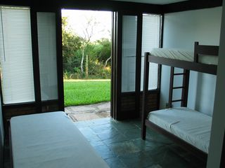 Ferradurinha villa photo - Picture of one of the fourbedrooms.entrance to the garden