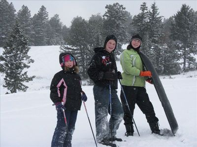 Great outdoor recreation for WINTER FUN!!!