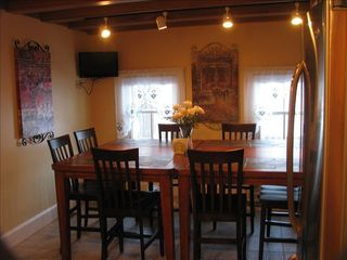 Cape May house photo - Dining area is open to kitchen area