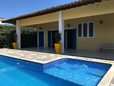 Foot on Sand House with Pool and BBQ - 2 suites