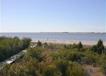 Beachfront View of St. Helena Sound & Atlantic Ocean