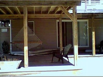 Furnished Deck Off Master Bedroom