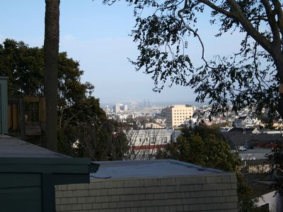 San Francisco apartment rental - City of views from the deck
