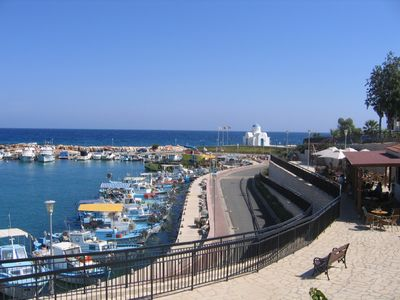 Ayia Triada Quaint Marina and Cafes