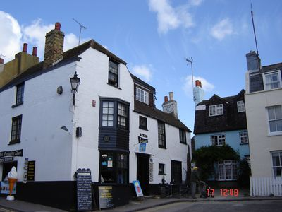 The Old Curiosity Shop, Cottages Behind
