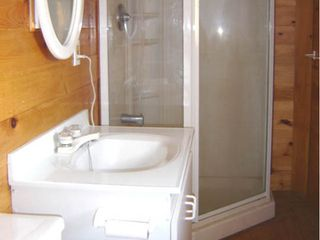 Mahone Bay property rental photo - Bathroom with spacious shower