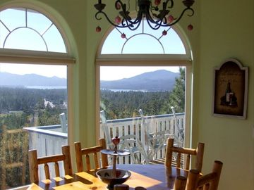 Big Bear Lake house rental - Dining Area