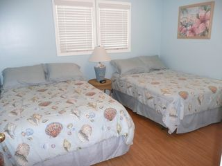 Crescent Beach house photo - Bedroom with 2 doubles
