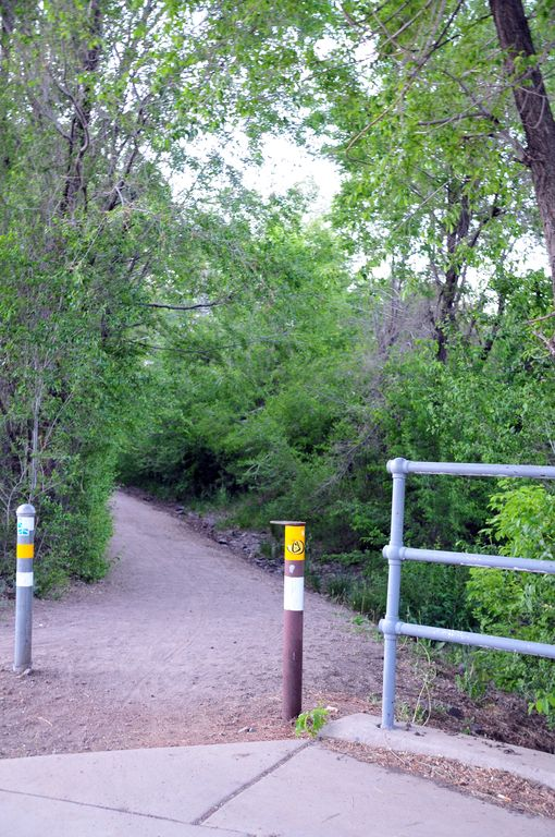 Entrance to Flagstaff Urban Trail System is 1/2 block from front door