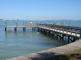 Sanibel Island condo photo - Fishing Pier with Sinks (no license required)