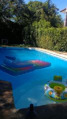 Sosua townhome photo - pool with relaxation toys