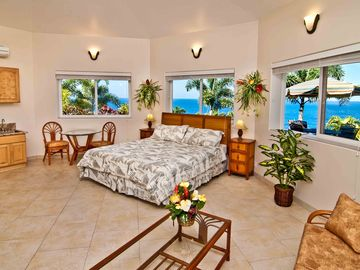 Pool side Bungalow # 2 with privite lanai and your own BBQ grill