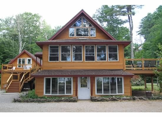 Year round renovated ossipee lake house homeaway the Lake house windows