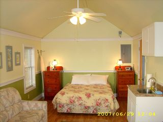 Bailey Island cottage photo - This queen bed has been replaced with a new king bed. New pics to follow...