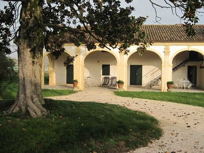 Apartments in the grounds of a historical Villa near Venice