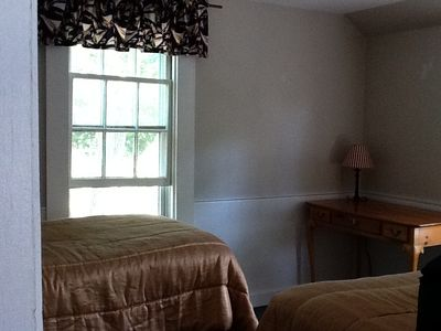 Wellfleet house rental - Cedardown, 2 Twins - Bedroom 5
