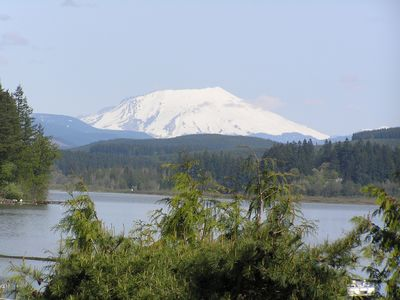 Cowlitz river castle rock to longview topo map for Rental cabins near mt st helens