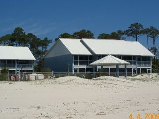 Port St. Joe townhome photo - View from beach of The Beach Bungalow