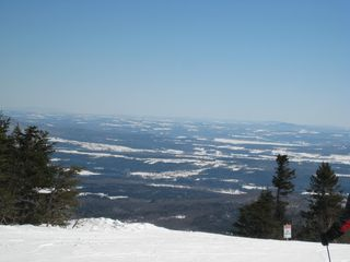 Jay Peak condo photo - View of the top of the mountain