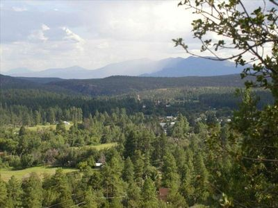Hike up the mountain for a great view of Pine. You'll love the small town charm.