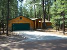 Summertime view - Pinetop cabin vacation rental photo