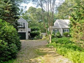 West Tisbury house photo - House Is Quietly Tucked Away Off Road