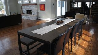 Three Oaks house photo - Dining Room table, sits 12-14