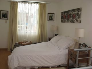 Arequipa apartment photo - Bedroom with queen size bed.