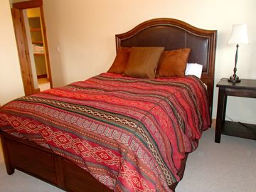 Queen Size Bed in Secondary Bedroom