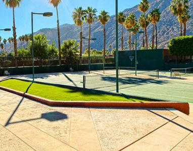 Tennis and Basketball Courts at the Marquis Villas Resort