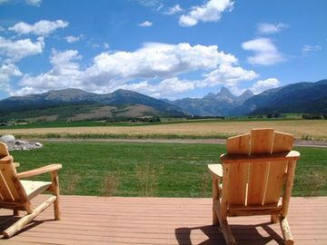 Relax on your back deck and take in the views.