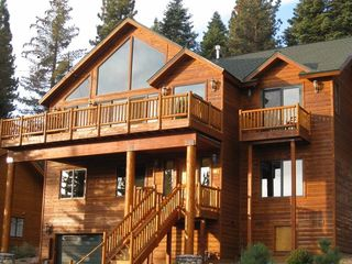 Dollar Point house photo - Our retreat is nestled in the pines with a beautiful log and cedar exterior