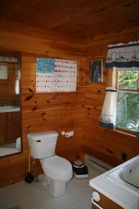 Guest room shared bathroom...