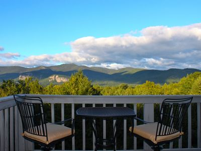 Intervale condo rental - Check out the view!