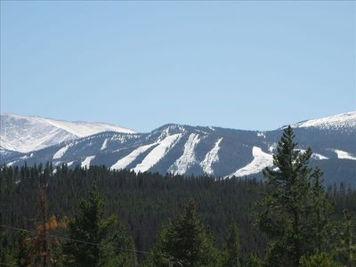 View From Great Room Toward Winter Park Ski Slopes