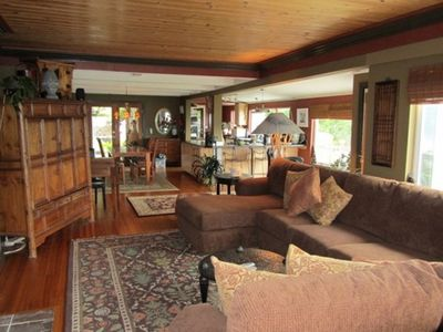 One level home with high end furnishings and collectibles