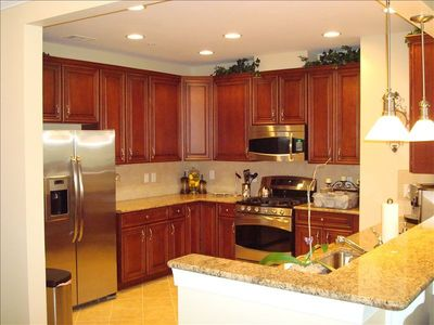 Kitchen - And what a kitchen it is - SS appliances/granite/fully stocked