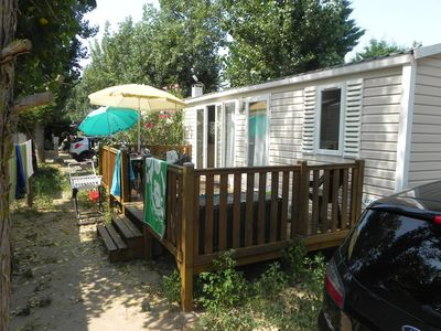 MOBIL HOME FOR RENT 4/6 pl - ALL EQUIPPED - IN PEACE -LE CLOS VIRGILE