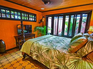 Tamarindo house photo - Master Bedroom with flatscreen TV