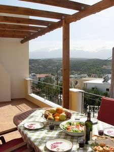 Villa Thalassa in Crete in Almerida Bay,  sleeps 8 people