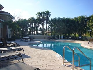 Bonita Springs apartment photo - Pool area adjacent to the property