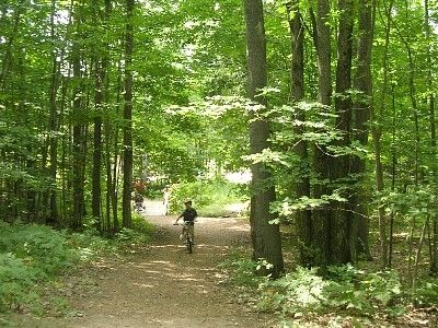 Miles of Scenic Hiking & Snow Shoe Trails