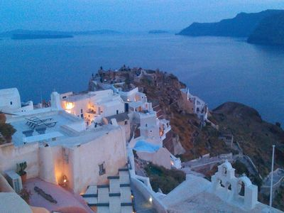 the 'Castle' at Oia