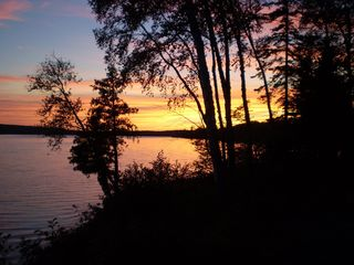 Lake Medora cottage photo - Great sunsets most evenings...followed by beautiful star filled night.