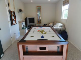 Langley house photo - Air Hockey. Game Room with 7' triple game table, XBox and DVDs