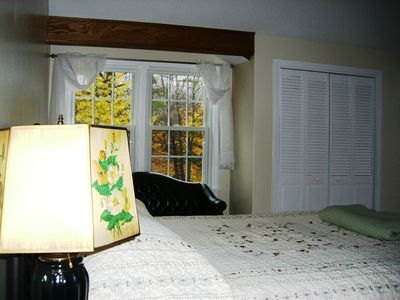 North Conway house rental - Master bedroom